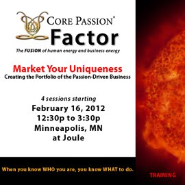 Market your Uniqueness on Feb 16, 2012